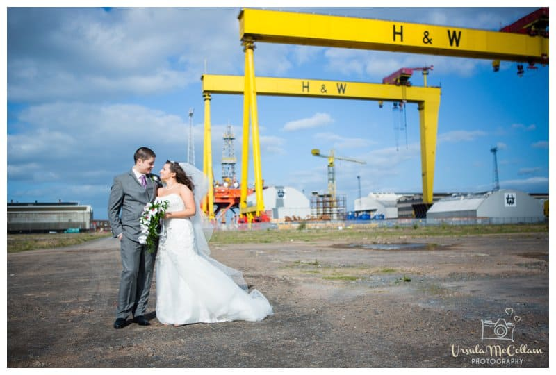 Titanic Quarter Wedding