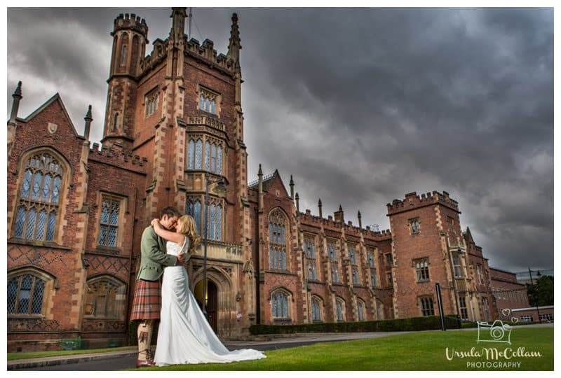 Queens university wedding