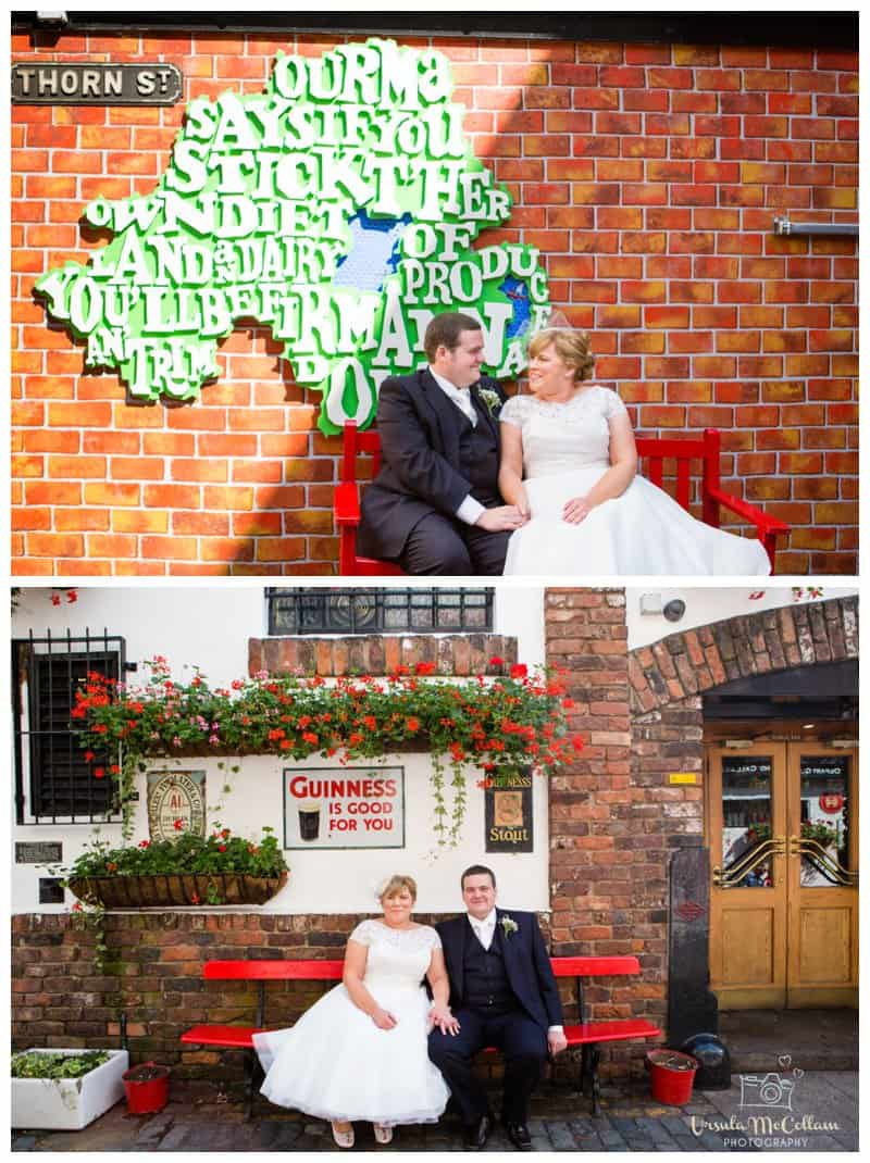 Belfast Cathedral quarter wedding photography