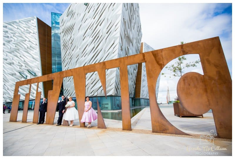 Belfast city wedding