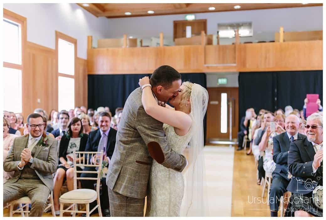 Antrim Courthouse wedding