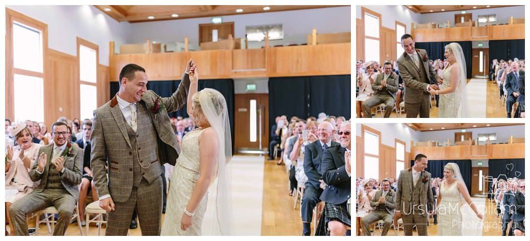 Antrim Courthouse wedding