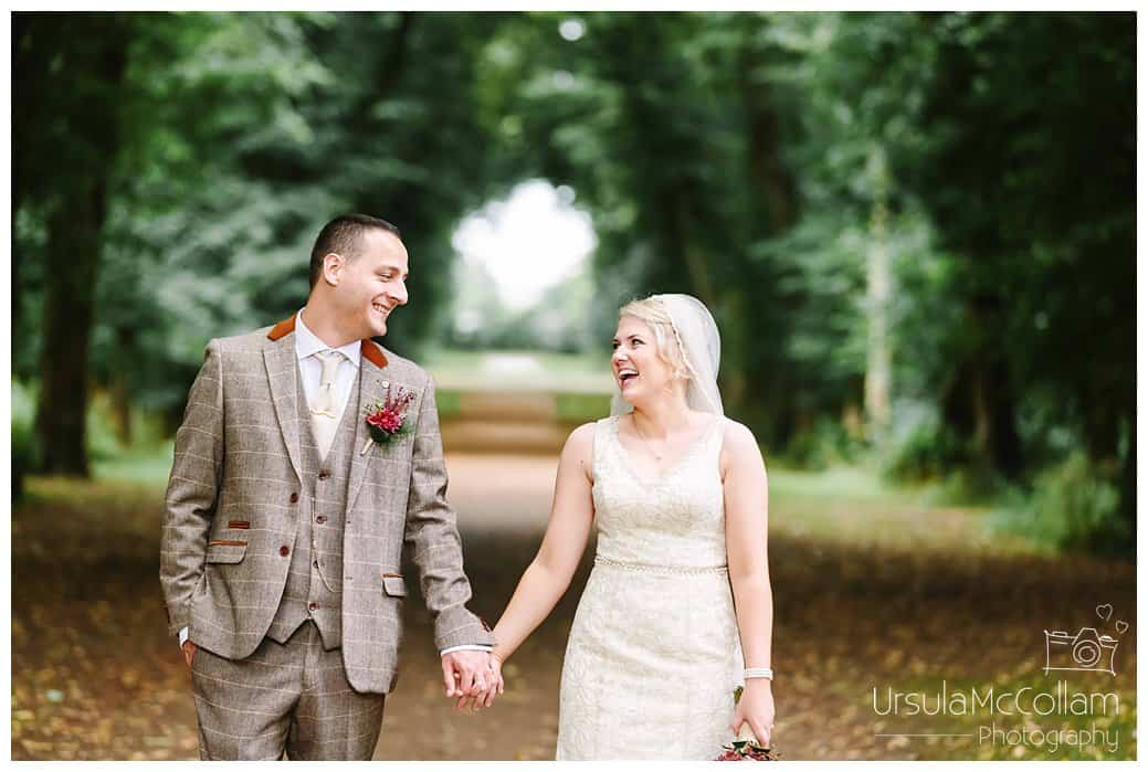Antrim Castle Gardens Wedding Photography