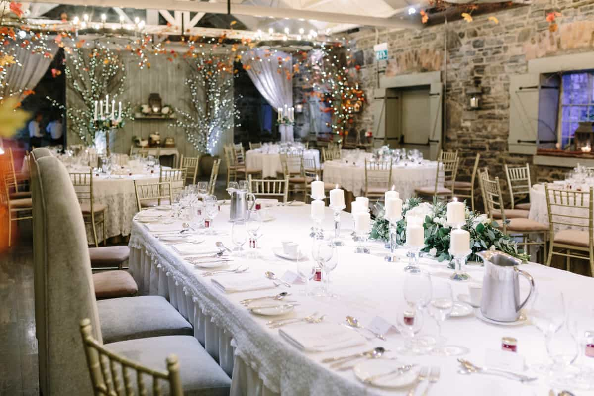 Banqueting hall ballymargvey village