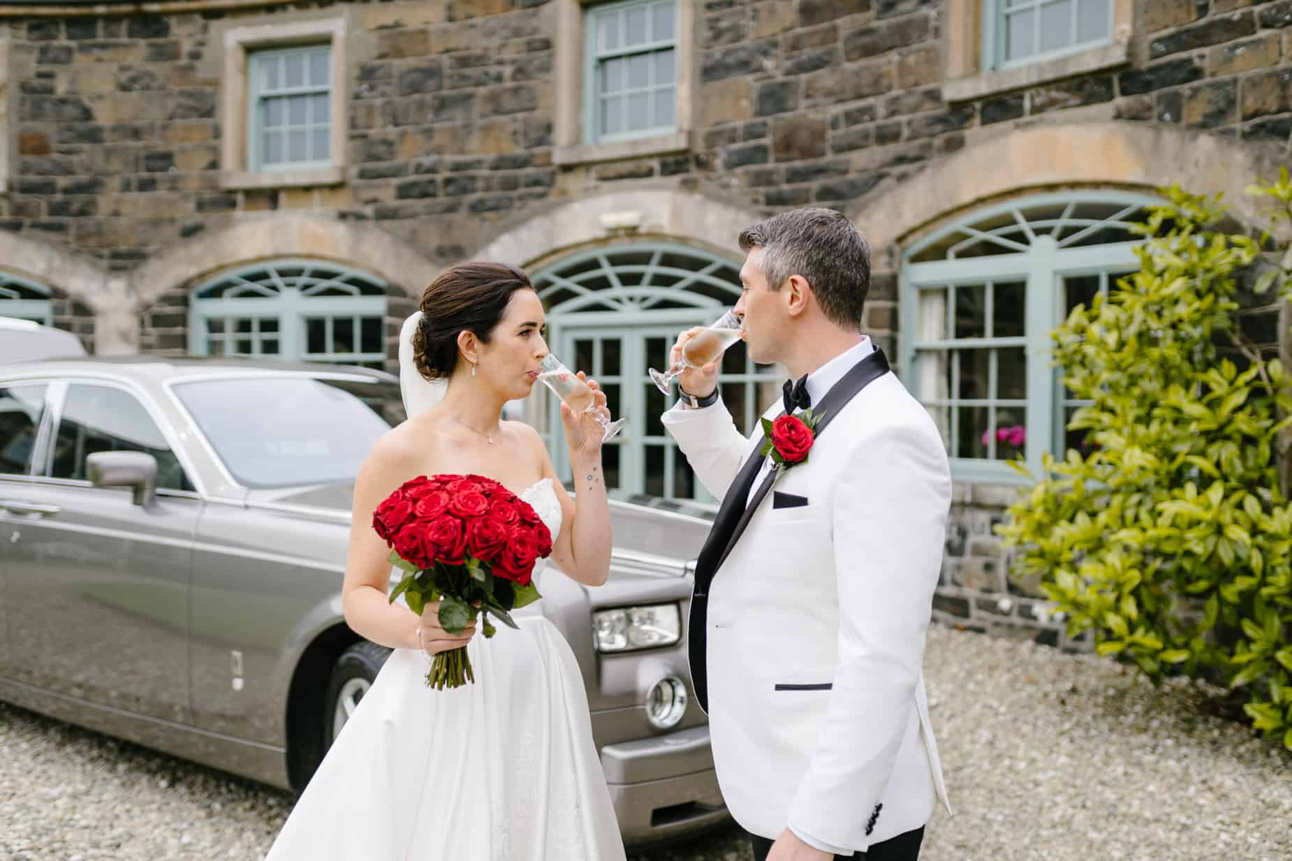 Lissanoure Castle Wedding  | Emma & Jan