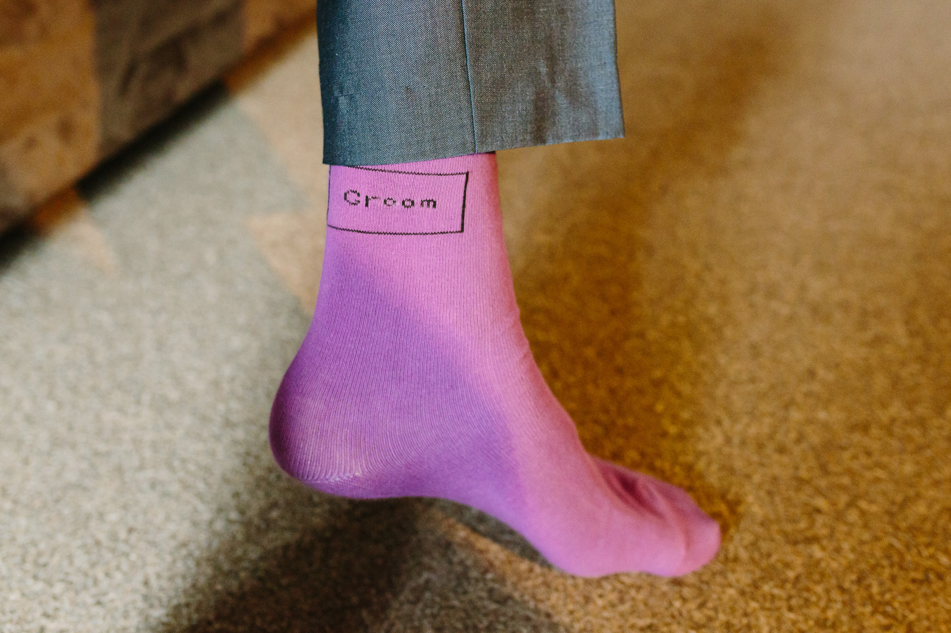 groom sock