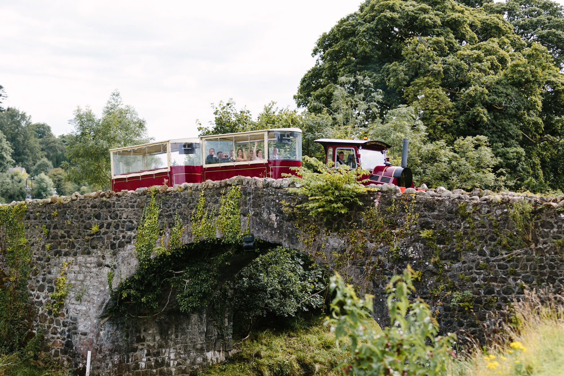 Glenarm Riverlodge train